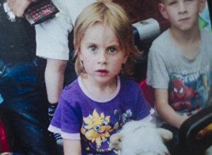 Пропавшая в Бооме пятилетная Лида. Архивное фото