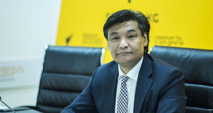 Председатель комитета по промышленной политике Торгово-промышленной палаты КР Кубатбек Рахимов