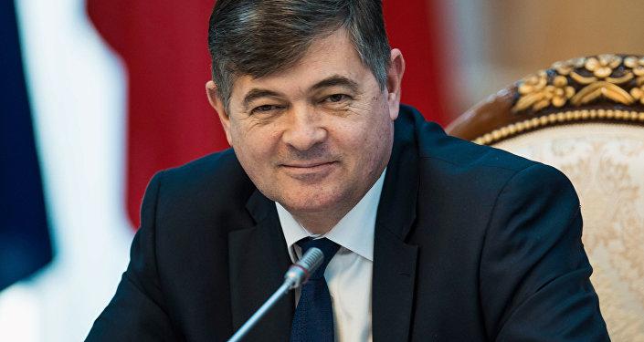 Архивное фото вице-премьер-министра КР Олега Панкратова