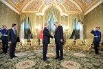 Москвада Россия президенти Владимир Путин менен Туркия лидери Тайип Эрдогандын жолугушуусу