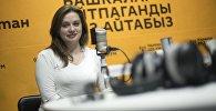 Врач-ординатор, сотрудник скорой помощи Елена Черномазова во время интервью на радио Sputnik Кыргызстан