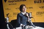 39 жаштагы Аксана Рыскулова бизнес боюнча кыргыз тилдүү тренер