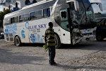 Гаитиде топтолгон элди тебелеп кеткен автобустан каза болгондордун саны 38ге жетти
