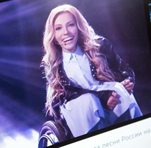 Снимок с официального сайта российского Первого канала. Певица Юлия Самойлова