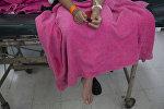 Девушка в больнице. Архивное фото