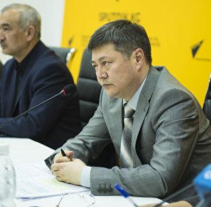Заместитель генерального директора Департамента лекарственного обеспечения и медицинской техники Руслан Акматов