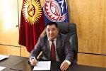 Өкмөттүн Нарын облусундагы ыйгарымдуу өкүлү Аманбай Кайыпов. Архивдик сүрөт