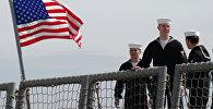 Моряки фрегата Военно-морских сил США. Архивное фото