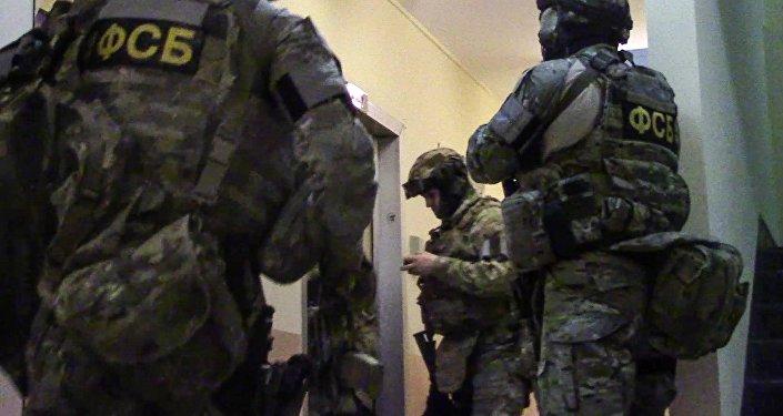 ФСБ кызматкерлери. Архивдик сүрөт