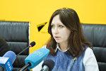 Глава экологического движения БИОМ Анна Кириленко. Архивное фото