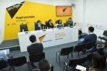 Пресс-конференция на тему Интересы чиновников, выступающих против запрета на охоту в Кыргызстане