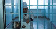 Врач республиканской психиатрической больницы в селе Чым-Коргон. Архивное фото