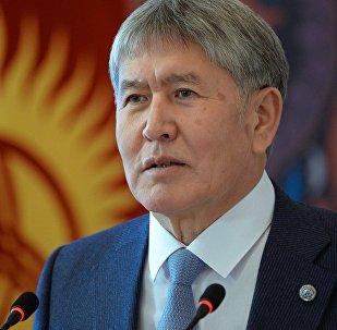 Президент Алмазбек Атамбаев принял верительные грамоты у чрезвычайных и полномочных послов пяти стран