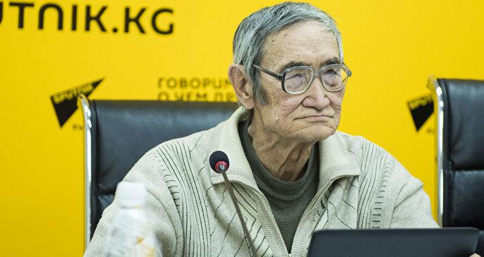 Эколог и доктор биологических наук Эмиль Шукуров. Архивное фото