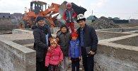 Строительство дома для семьи Мамыровых в селе Степное
