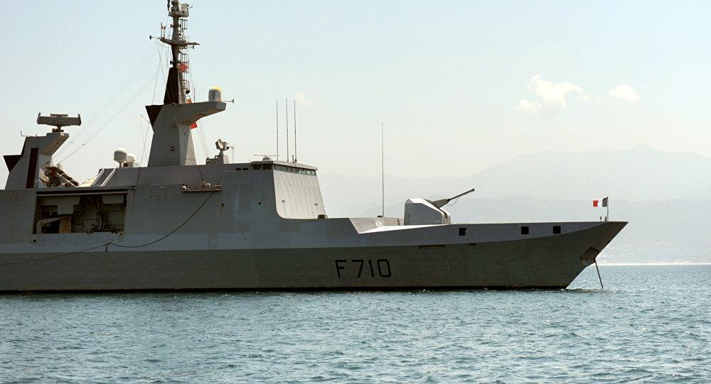 Фрегат французского флота La Fayette. Архивное фото
