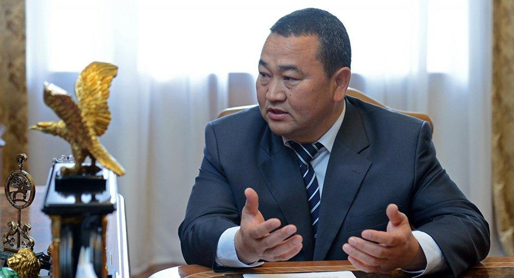 Полномочный представитель правительства в Иссык-Кульской области Асхат Акибаев. Архивное фото