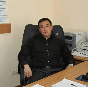 Прокурор отдела по связям с общественностью Генеральной прокуратуры Алманбет Абдраманов