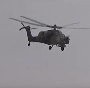 Вертолеты РФ внесли большой вклад в успех сирийской армии в Пальмире