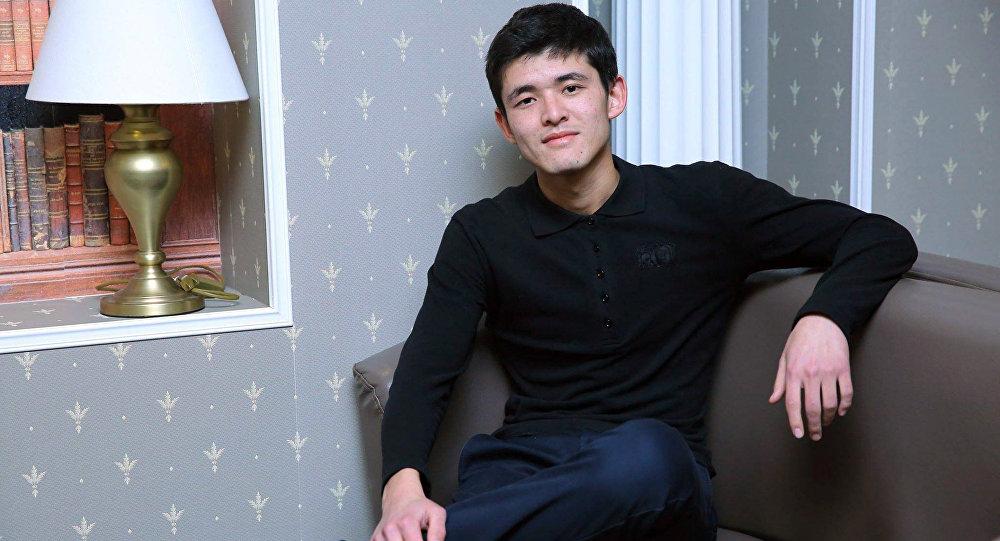 21-летний предприниматель Улар Садыгалиев. Архивное фото