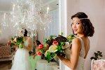 Известная телеведущая и обладательница титула Мисс принцесса Азии — 2016 Айжамал Осмонова. Архивное фото