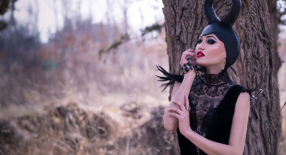 Кыргызстанская актриса, модель, телеведущая Дина Джейкоб. Архивное фото