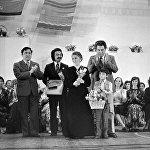 Ак кеменин IX Бүткүл союздук кинофестивалдын баш байгесине ээ болгон учуру. 1976-жыл