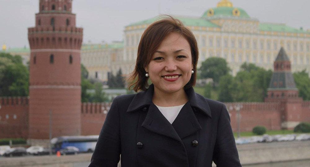 Журналист Аида Касымалиева. Архивное фото
