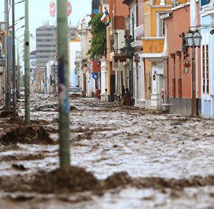 Сильнейшие наводнения в Перу