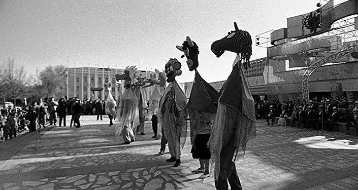Фотофакт: самое первое празднование Нооруза в Кыргызстане