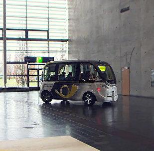 Робоавтобус в Ганновере
