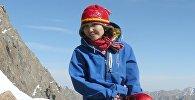 Кыргызстандагы саналуу альпинист кыздардын бири — Гүлбара Оморова