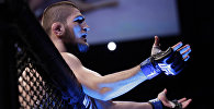 Архивное фото звезды UFC Хабиба Нурмагомедова