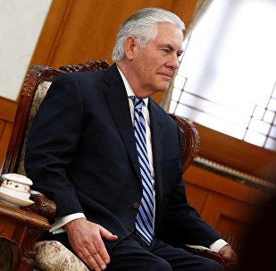 Архивное фото государственного Секретаря США Рекса Тиллерсона