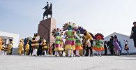 Праздничная программа на столичной площади Ала-Тоо. Архивное фото