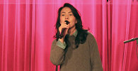 Белгиядагы кыргыздар 19-март күнү Брюсселде концерт уюштуруп ага жаш ырчы Аяна Касымова барып өнөрүн тартуулаган