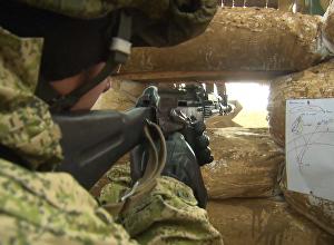 Крупномасштабные военные учения ВДВ в Крыму