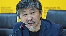 Режиссер, исполнитель роли главного героя Актан Арым Кубат на пресс-конференции на тему Фильм Кентавр — о современном герое кыргызского народа.