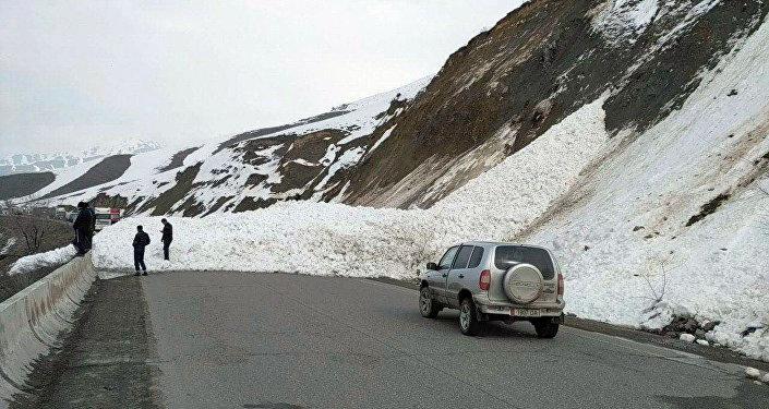 Лавина сошла примерно в 15.00. Высота снежной массы составила 2,5 метра, длина — 30.