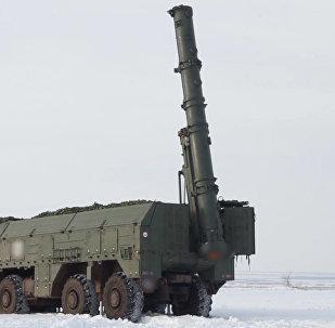 Спутник_Учения Искандеров-М под Оренбургом