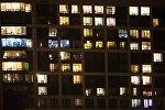 Окна жилых домов. Архивное фото