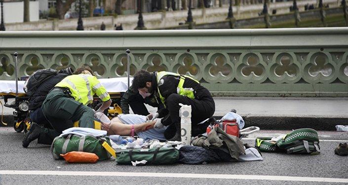 Улуу Британияда парламенттин имаратынын жанында теракт болуп, андан кеминде эки адам мерт кетти