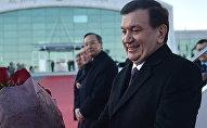 Президент Узбекистана Шавкат Мирзиёев прибыл с первым государственным визитом в Казахстан