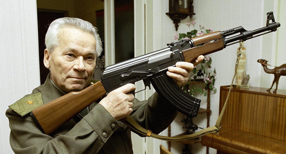 Концерн «Калашников» получил права натрехмерное изображение АК-47