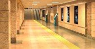 Эскизы подземных переходов в Бишкеке