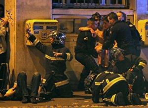 Серия спланированных терактов в Париже