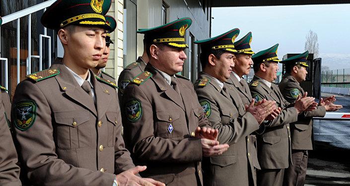 Накыргызско-казахской границе обновили КПП «Токмок-автодорожный»