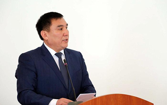 Губернатор Ошской области Таалайбек Сарыбашев