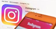 Instagram социалдык тармагынын логотиби. Архив