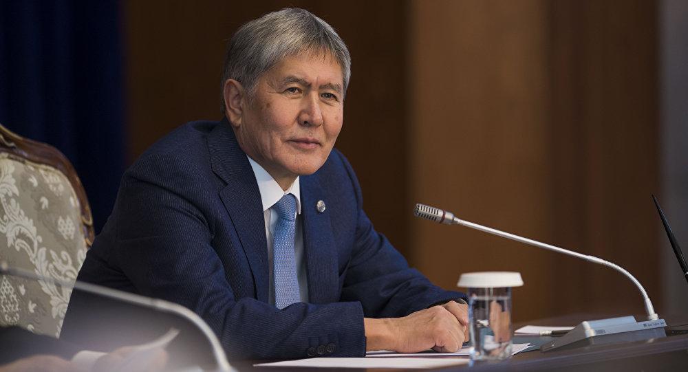 Бывший президент Кыргызстана Алмазбек Атамбаев. Архивное фото